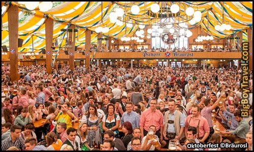 Top 10 Best Beer Tents At Oktoberfest In Munich Germany - Braurosl Brewers Rosi & TOP 10 Best Oktoberfest Beer Tents in Munich - Wiesn Party u0026 Drink