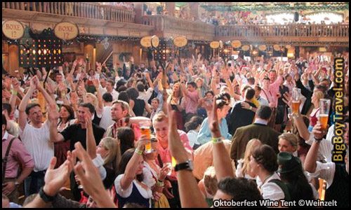 Top 10 Best Beer Tents At Oktoberfest In Munich - Kuffler's Wine Tent Lodge Wienzelt