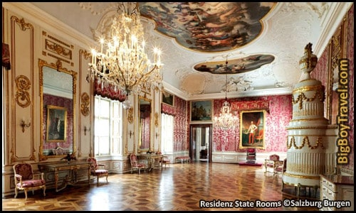 Free Salzburg Walking Tour Map - Alte Residenz Palace Tours