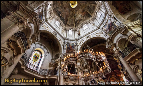 Free Prague Walking Tour Map Old Town Square Stare Mesto - Saint Nicholas Church Interior