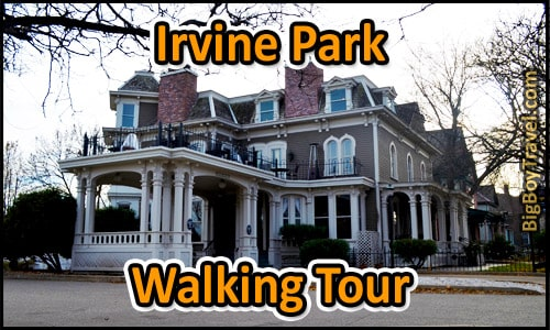 Irvine Park Walking Tour - St Paul MN