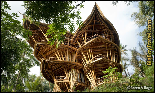 Best Treehouse Hotels In The World, Top 10, Green Village Bali