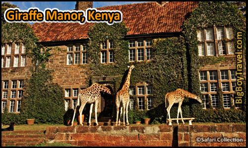 Coolest Hotels In The World, Top Ten, Giraffe Manor Kenya