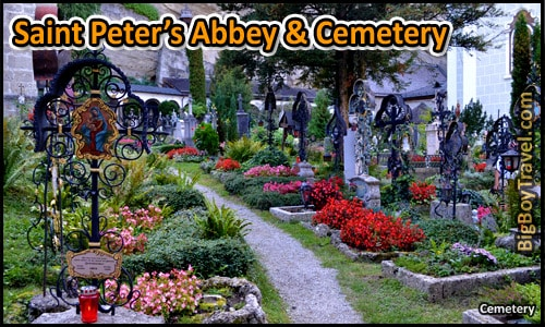 Top Ten Things To Do In Salzburg - Saint Peters Abbey Cementery