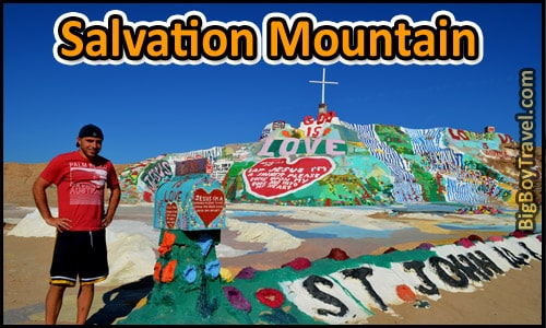 Salvation Mountain Tour - California
