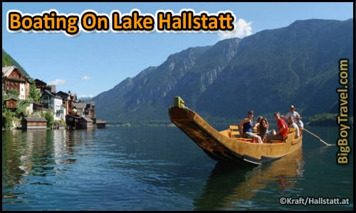 Top 10 Things To Do In Hallstatt Austria - Boating On Lake Rentals