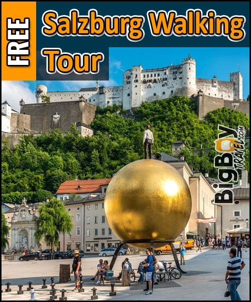 Free Salzburg Walking Tour Map - Old Town