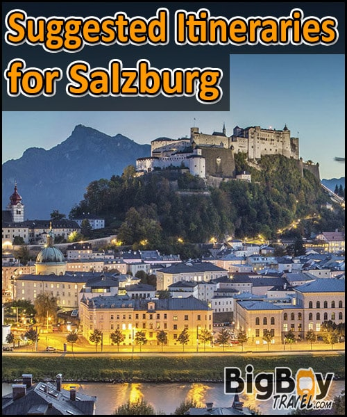 Suggested Itineraries For Salzburg Austria
