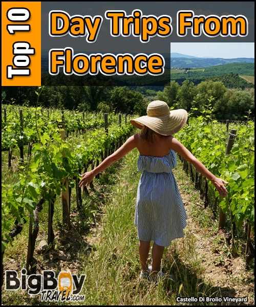 Top Day Trips From Florence Italy - Best Side excursions and one day tours from Florence