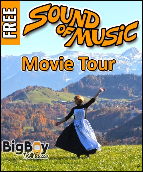 Sound of Music Movie Tour In Salzburg - Film Locations Walking Tour Map
