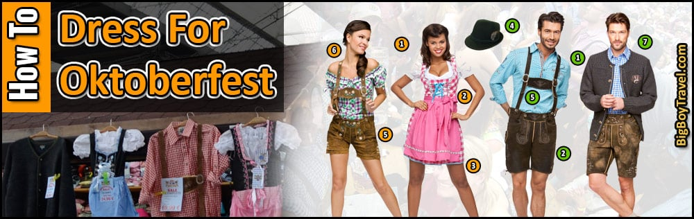 af768eb3e694 How To Dress For Oktoberfest In Munich - Clothing Guide what to wear for  Oktoberfest