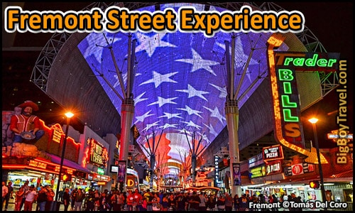 FREE Downtown Las Vegas Walking Tour Map - Fremont Street on