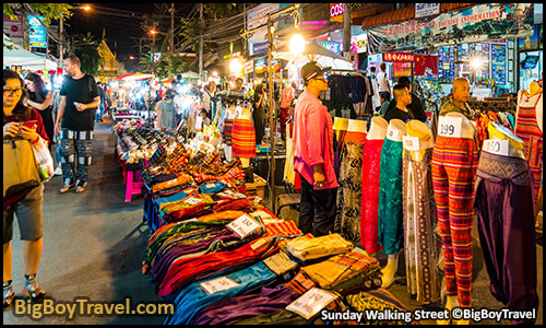 FREE Chiang Mai Walking Tour Map - Old Town Temples Guide Thailand