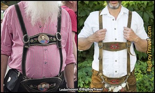 How To Dress For Oktoberfest In Munich Outfit Clothing Guide What To Wear For Oktoberfest - Lederhosen Suspenders Munich Germany