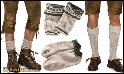 How To Dress For Oktoberfest In Munich Outfit Clothing Guide What To Wear For Oktoberfest - mens traditional socks calf warmer stockings