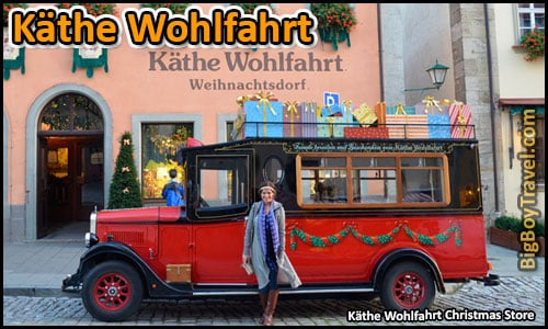 Top Ten Things To Do In Rothenburg Germany - Kathe Wohlfahrt Christmas Store & Museum