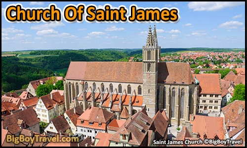 Top Ten Things To Do In Rothenburg Germany - saint james church