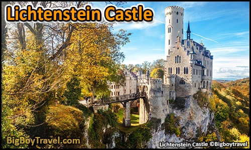 top castles in germany to visit and see best to tour - Lichtenstein Castle