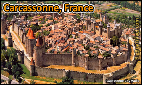 Top 25 Best Medieval Cities In Europe To Visit Preserved - Carcassonne France walled city