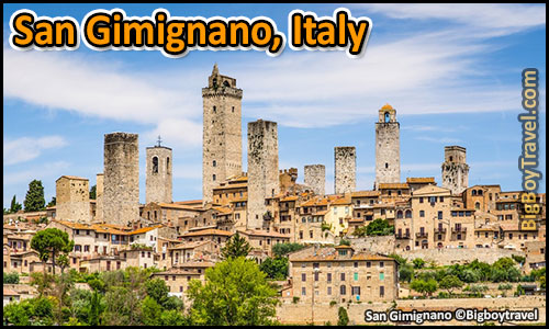 Top 25 Best Medieval Cities In Europe To Visit 10 Best Preserved - San Gimignano Italy Tuscany town towers
