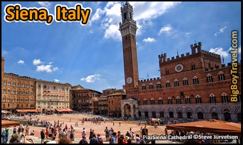 Top 25 Best Medieval Cities In Europe To Visit Preserved - Siena Italy Il Campo Square