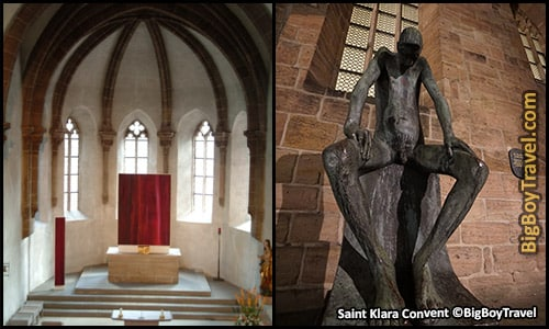 Free Old Town Nuremberg Walking Tour Map - Saint Klara Convent Church Poor Claire's