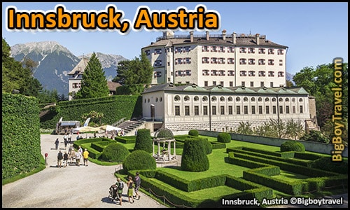 top ten day trips from munich germany best side trips - Innsbruck Austria ambras castle